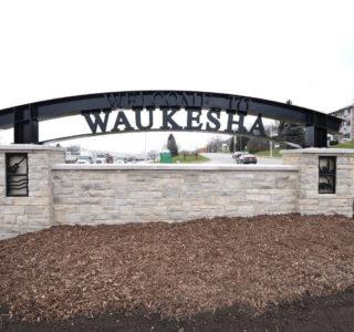 welcome to waukesha sign