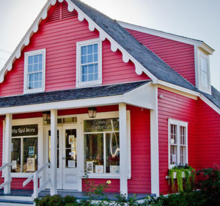 Little Red Store Front Exterior Renovation