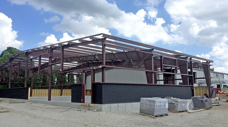 metal building frame